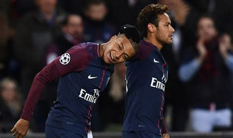 kylian mbappe and neymar real madrid face man city competition for shock neymar