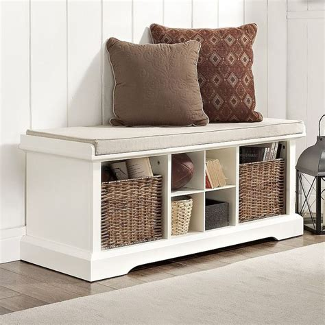 diy entryway bench with storage 1000 ideas about storage benches on pinterest entry