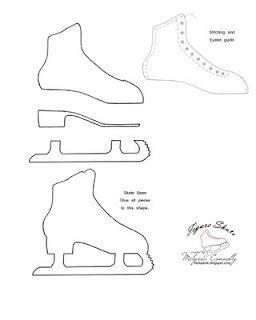 Skateboard Design Vorlagen Figure Skate Pattern Kuchen Und Muster