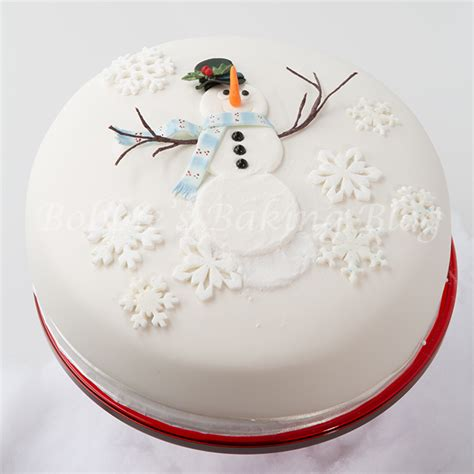 diy snowman cake tutorial bobbies baking blog