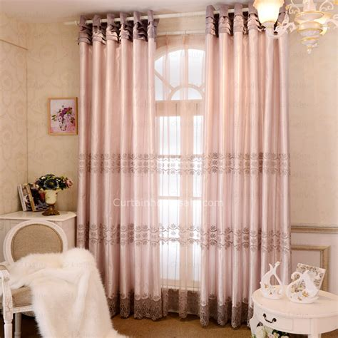floral curtains for living room luxury embroidery floral living room curtains
