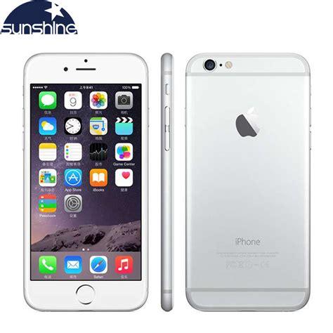 unlocked original apple iphone 6 mobile phone 4 7 8 0 mp dual 16 64 128gb rom gsm