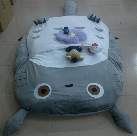 giant totoro bed big huge cute 2012 models 290cm totoro bed sleeping bag