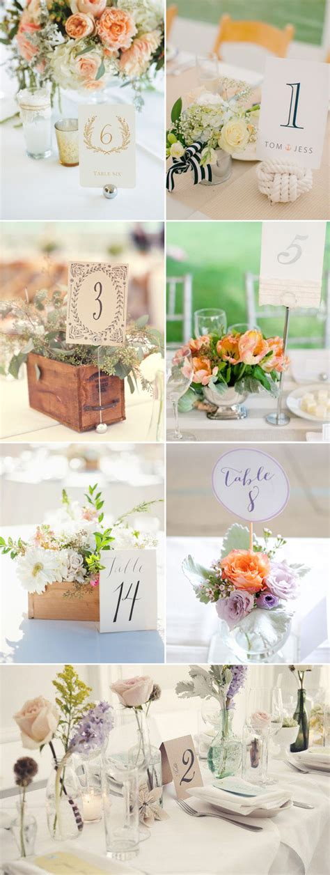 table card holders wedding template 51 creative diy wedding table number ideas deer pearl