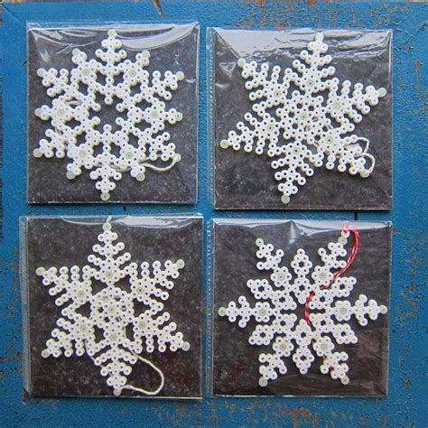 snowflake bead pattern 17 best images about perler beads on pinterest