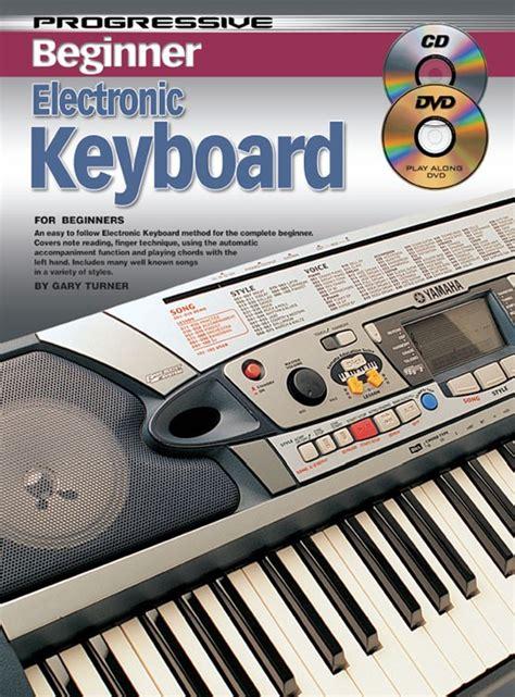 keyboard tutorial basic progressive beginner electronic keyboard