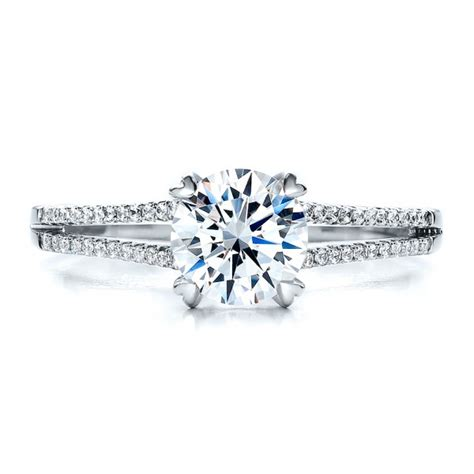 split shank engagement ring vanna k 100090 bellevue