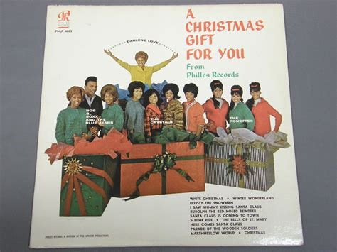 phil spector christmas gift for you 黄lbl phlp4005アナログレコード