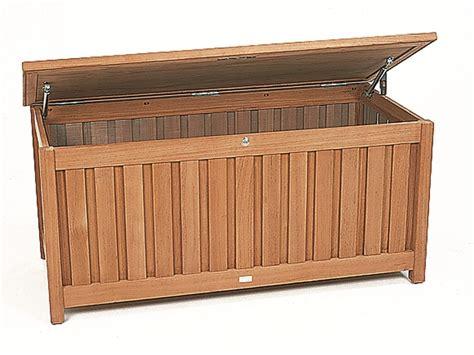 cassapanche da giardino cassapanca da giardino in teak cushion box cassapanca in