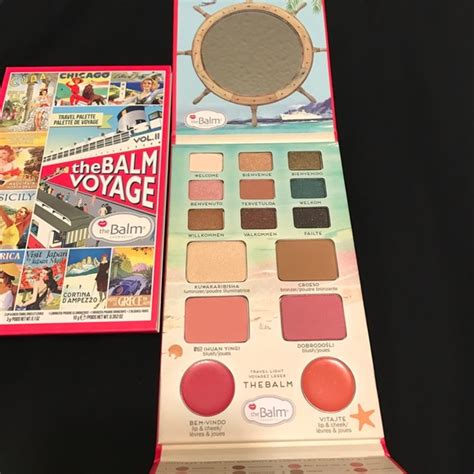 The Balm Voyage Vol 2 Travel Pallete 33 sephora other hp the balm bon voyage volume 2 palette new from jen 5 suggested user s