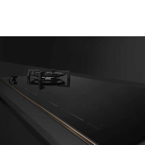 mixed induction ceramic hob smeg pm6912wldr gas induction hob dolce stil novo black ceramic gla