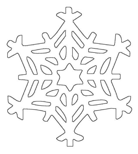 Kostenlose Vorlage Schneeflocke schneeflocken und sterne kostenlose malvorlage