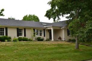 Painted brick ranch style house painted brick a plethora of