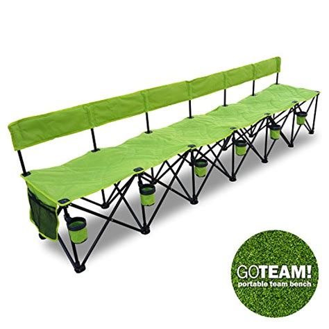folding soccer bench best portable soccer team bench reviews of sports