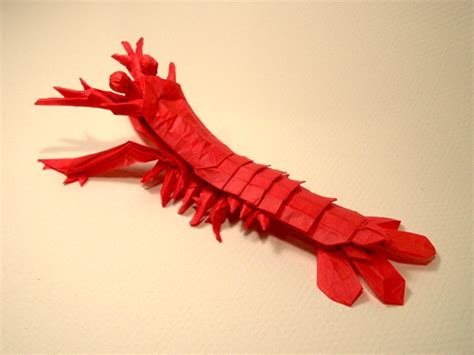 Origami Shrimp - jason s ku s homepage