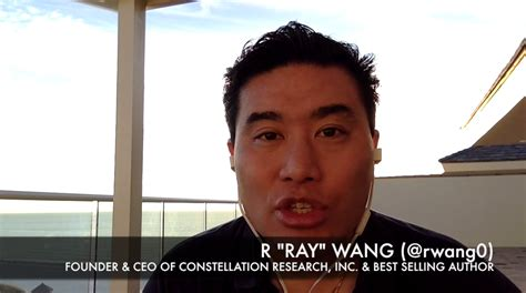 About R Ray Wang A Software Insiders Point Of View | news analysis in search of growth amidst digital