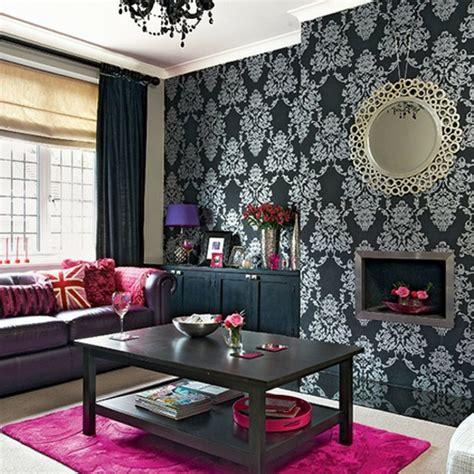wohnideen wohnzimmer modern barock tapete 38 atemberaubende fotos