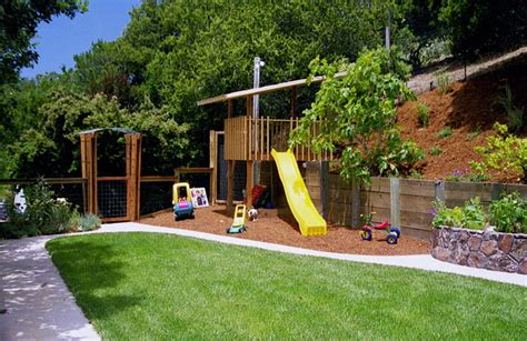Small Sloped Backyard Ideas Sloping Backyard Ideas Marceladick