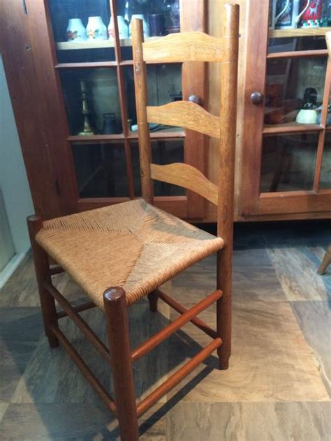 antique ladder back chairs price price reduced true canadiana antique ladder back