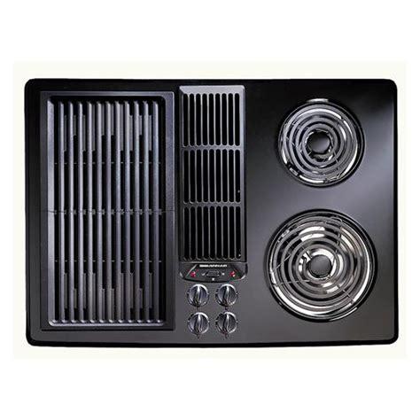 Jenn Air Electric Cooktops 30 quot designer line downdraft electric cooktop jed8130 from jenn air 174
