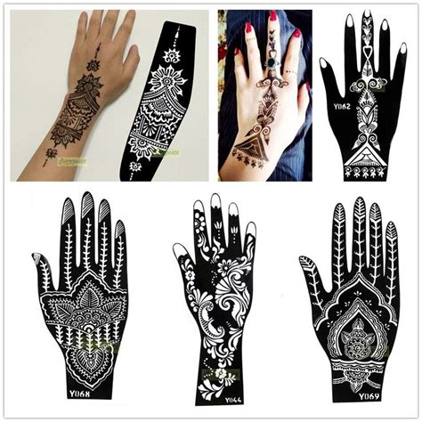 henna temporary tattoo instructions best 25 henna stencils ideas on henna