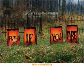 Scary Halloween Decorations Ideas Homemade Diy Scary Halloween Decorations Outside 30 Snappy Pixels