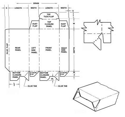 crash card template box templates corrugated and folding box
