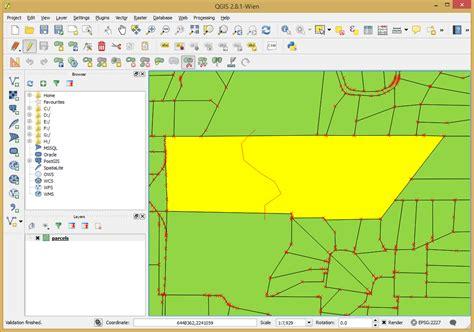 qgis tutorial parcel editing editing qgis tutorials 0 1 documentation