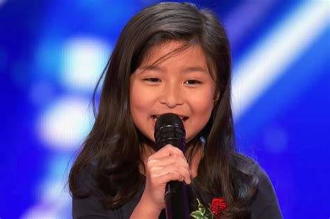 americas youngest outcasts america s got talent 9 year old girl wows with celine