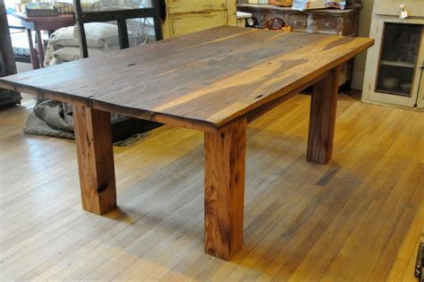 Kitchen Tables Made From Barn Wood Upcycled Furniture