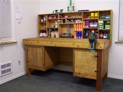 gun reloading bench let s see your reloading bench www ifish net reloading bench pinterest