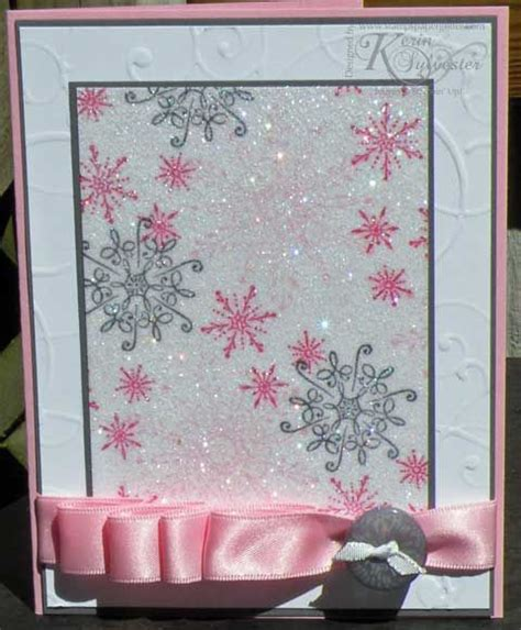 Dazzling Handmade Cards - sparkly handmade card using dazzling diamonds