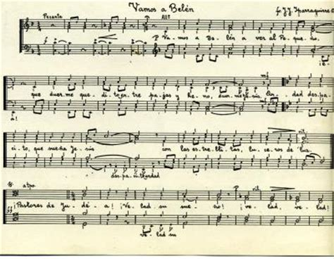 imagenes partituras antiguas preparando la navidad antiguos alumnos dominicos virgen