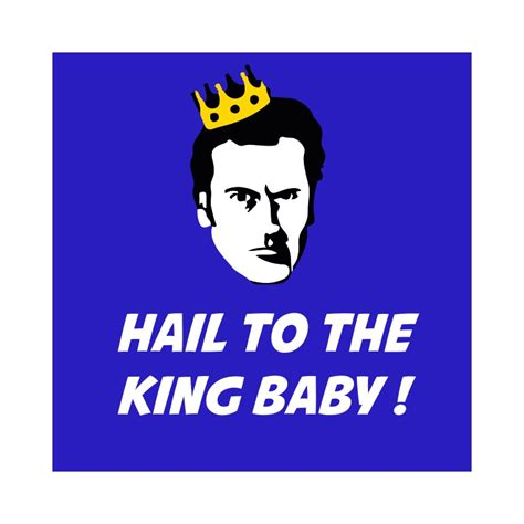 shirt hail to the king baby blue
