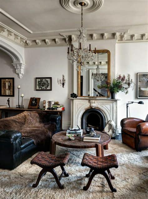 on vous pr 233 sente le salon en cuir une tendance moderne