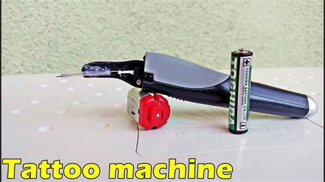 tattoo machine homemade homemade tattoo gun handmade tattoo machine youtube
