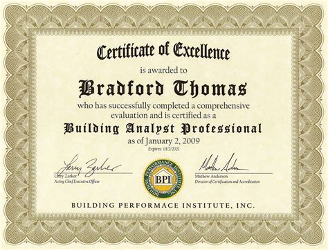 Or Certification Professional Certification