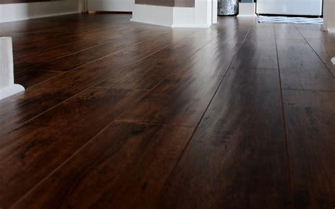 Black Wide Plank Laminate Flooring