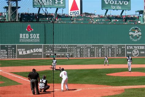 Baseball Wall Mural fenway park home plate amp green monster fenway park is