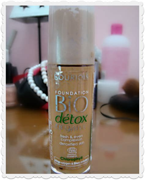 Bio Detox Organic by Bourjois Bio Detox Organic Foundation Review Glam