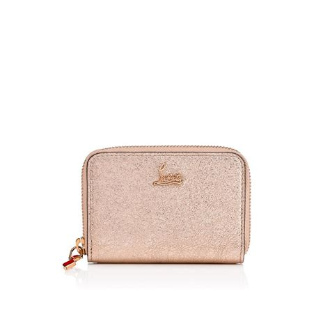 Christian Louboutin Leather Loubette Purse by Small Leather Goods Accessories Pink Christian