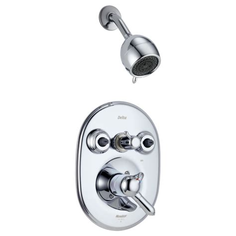 monitor174 18 series jetted shower� trim 182474 delta faucet
