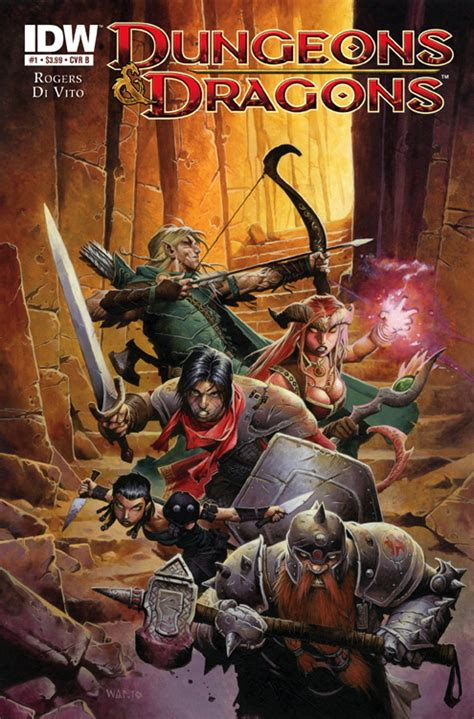 dungeons and dragons comic pictures dungeons and dragons 1 2010 comics forge
