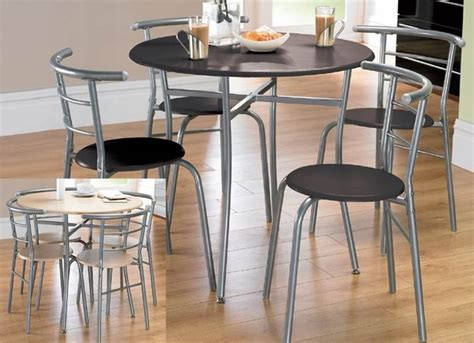 dining table set kitchen table and 4 chairs black