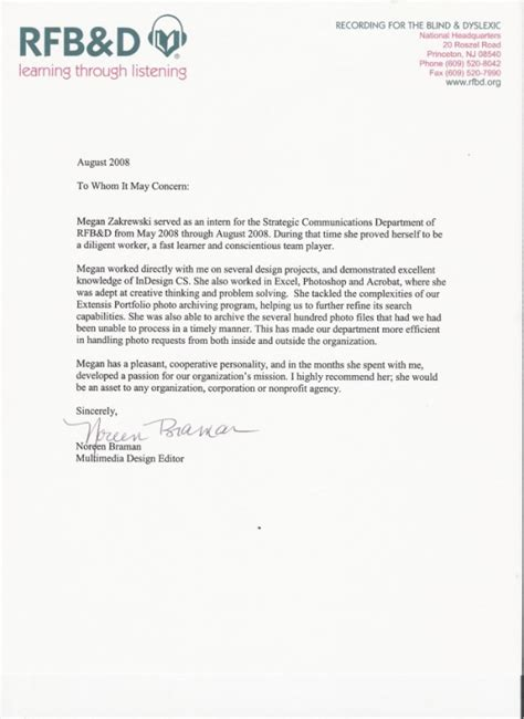 Recommendation Letter For College Instructor Letter Of Recommendation For College Professor