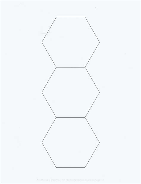 stron biz quilting hexagon templates free