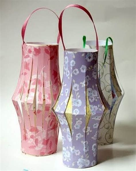 Paper Lantern Craft Ideas - ramadan garlands and paper decoration ideas family