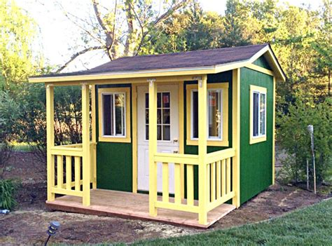 California Sheds Salinas by California Custom Sheds 10 X 8 Bonanza Roof Package