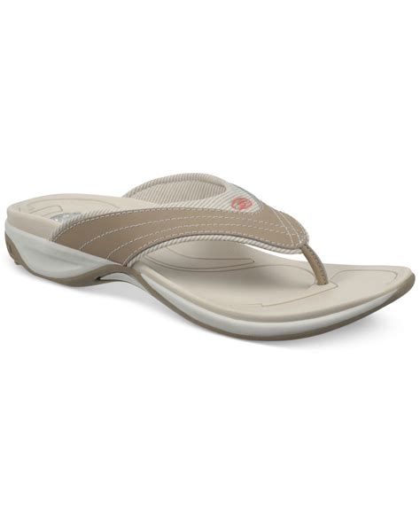 dr scholls sandals lyst dr scholls parcel sandals in