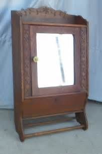 medicine cabinets vintage bargain s antiques 187 archive oak antique